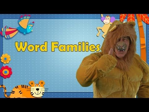 "Word families (also known as phonograms) are groups of words that have a common feature or pattern. For example bat, cat, hat, sat are a family of words with the ""at"" sound. Learning word families really helps children develop their reading skills. As emergent readers recognize word patterns they are able to chunk the sounds instead of sounding out each letter, promoting fluency.  Fluency is so important because by reading faster and smoother, children enjoy reading more!"