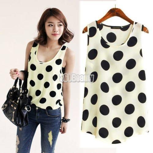 Korean-Womens-Hollow-Out-Chiffon-Shirt-Top-Blouse-T-shirt-Batwing-Sleeves-3-Size