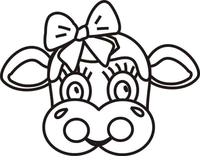 Cow Coloring Pages In 2020 Cow Coloring Pages Elephant Coloring