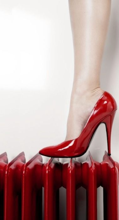 Red,  love these shoes