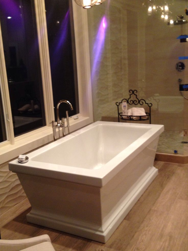 So Loving The New Stand Alone Tub Bella Vista Remodel