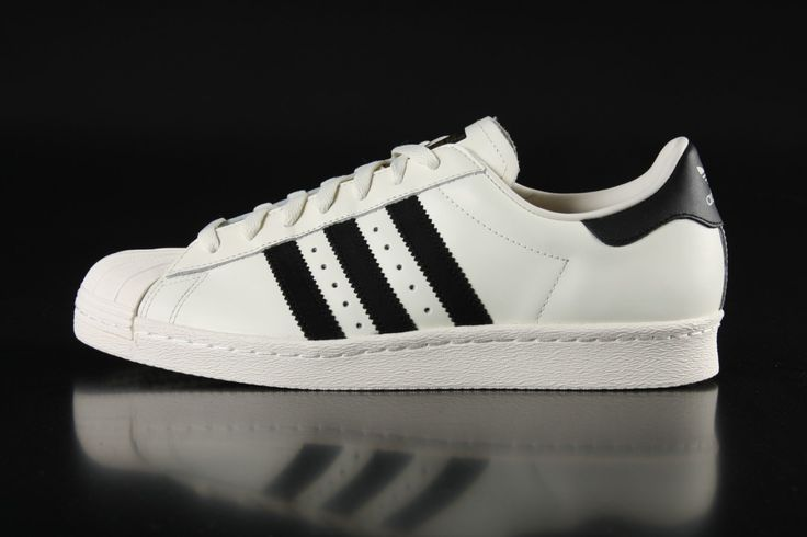 Adidas - Adidas Superstar 80s DLX Vintage sneaker White Classic Black OWhite B25963 - Fahrenheitstore