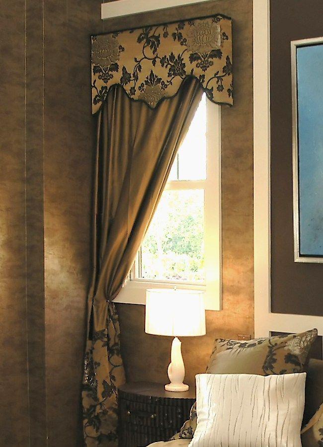 What is a Cornice Valance | Custom Window Treatments | Window ...