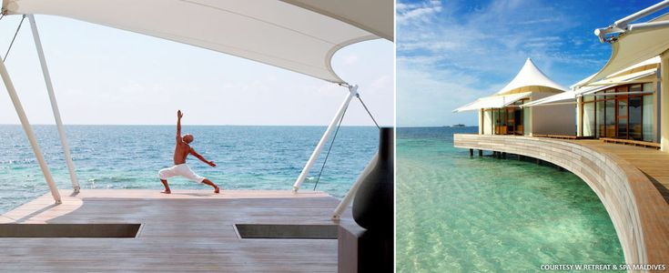 Harmonize Yourself at the AWAY® Spa at W Maldives