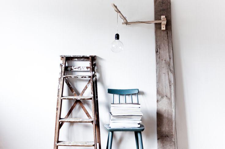Wooden Arm Lamp by Filip Forsberg