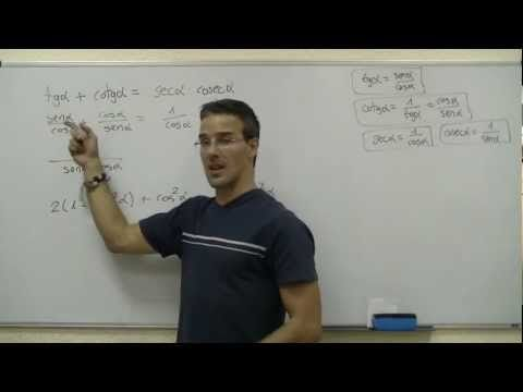 Razones trigonometricas SECUNDARIA (4ºESO) trigonometria seno coseno matematicas - YouTube