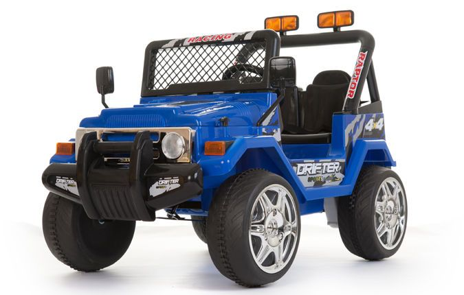 blue 12v 2 seats 4x4 jeep battery kids ride on cars electric childrens toy car toy