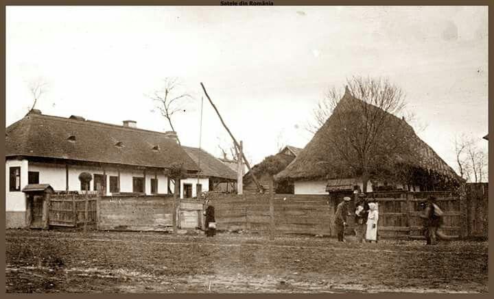 Sat romanesc din Transilvania.1918