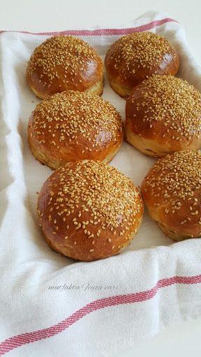 mutfakta Feyza var: Ev Yapımı Hamburger Ekmegi Tarifi