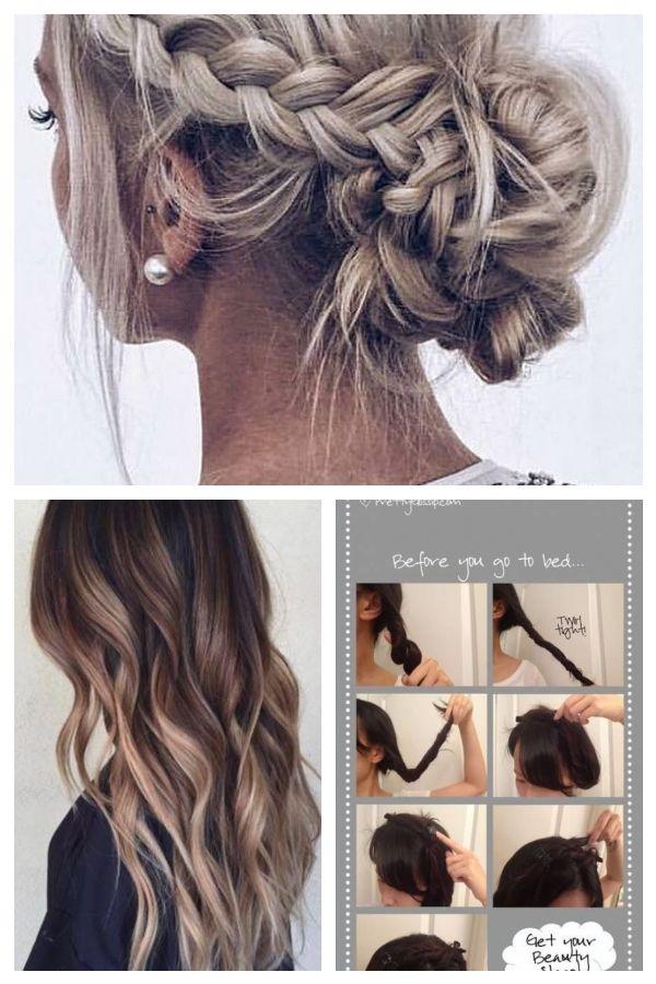 How To Braid Your Own Hair For Beginners Frisurenfrdenabschlussball Beginners Braid Hair Promhairstylesclassy Braiding Your Own Hair Prom Hair Hair