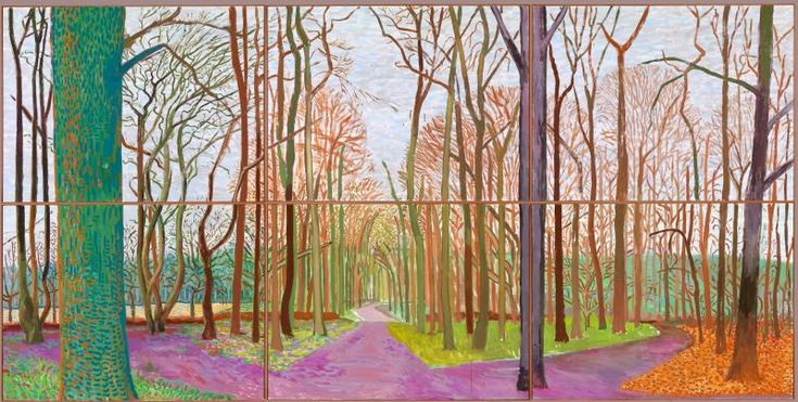 Hockney, David: Fine Arts, Artists | The Red List