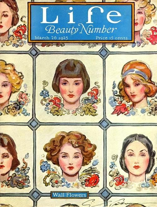 Life Magazine 1925: Beautiful Numbers, Marching 26, 1920S Hairstyles, Gibson Installations, Life Magazines, Wall Flower, Hair Style, Charles Dana Gibson, Magazines Covers