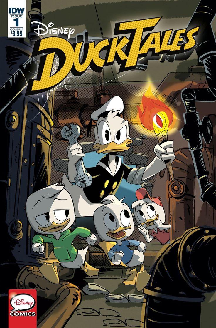 Capa de DuckTales #1 por Marco Ghiglione.