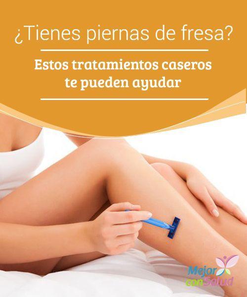 ¿Tienes piernas de fresa? Estos tratamientos caseros te pueden ayudar Gracias a estos tratamientos podrás exfoliar la piel para eliminar impurezas a la vez que la hidratas. Recuerda dejarlos actuar unos minutos para obtener mejores resultados