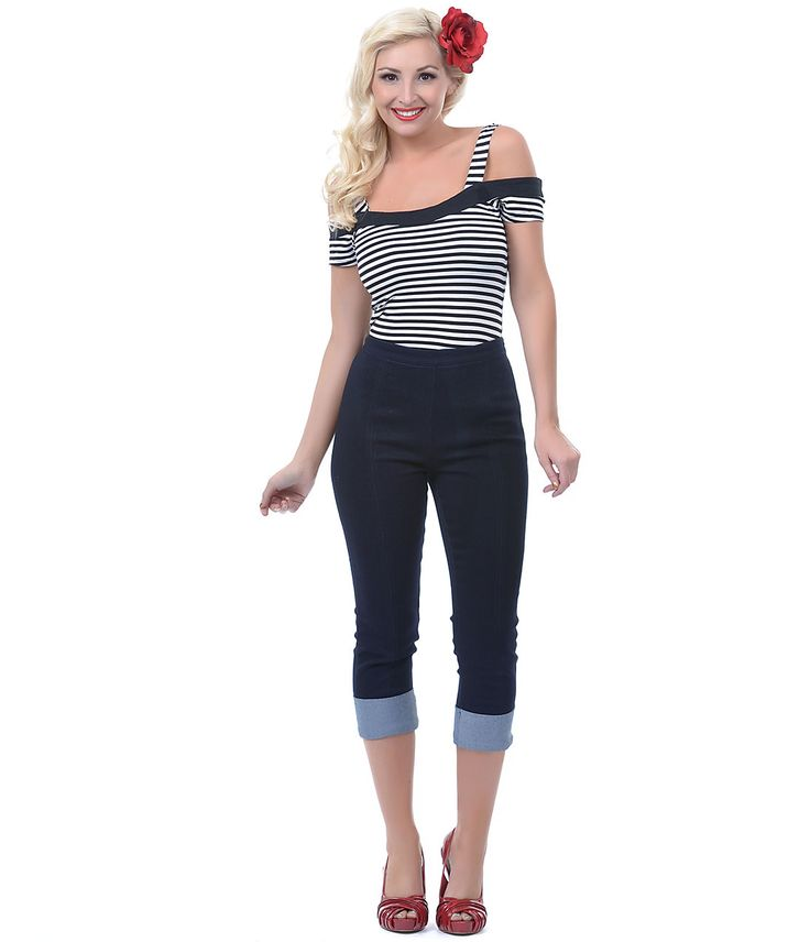 New Popular Fashion In The 50s  TopVintage  Clothing  Pants