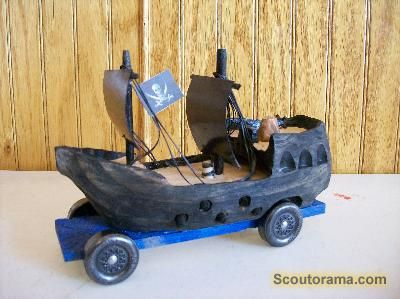 Pirate ShipPirates Ships, Pinewood, Derby Ideas, Awana Grand, Boys Scouts, Girls Scouts, Derby Cars, Cubs Scouts, Black Pearls