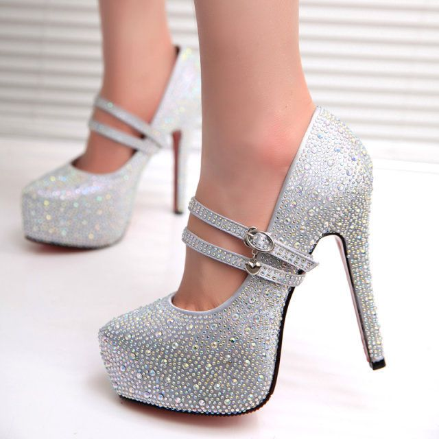 Aliexpress: Popular Rhinestone Wedding Shoes in Shoes