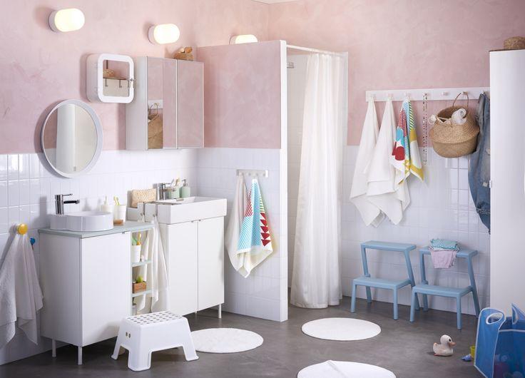LILLÅNGEN/ VISKAN / GUTVIKEN kast voor wastafel | IKEAcatalogus nieuw 2018 IKEA IKEAnl IKEAnederland badkamer kamer inspiratie wooninspiratie interieur wooninterieur MÄSTERBY opstapje kruk douche bad opberger opbergen opbergmeubel