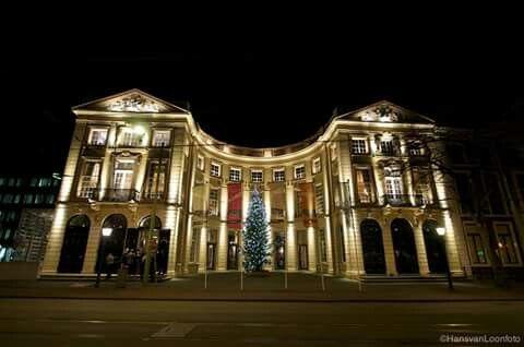 Kerstsfeer in Den Haag.