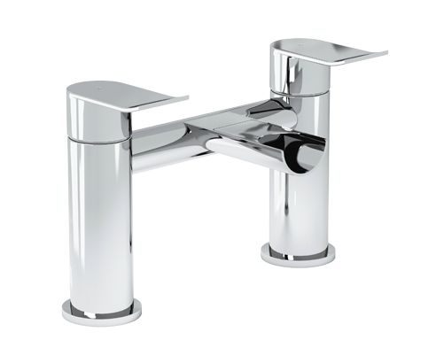 Cascade Waterfall Bath Mixer Tap - V40171079CS front_angle square medium