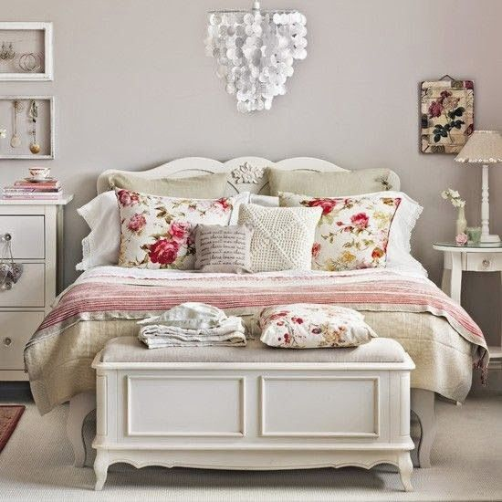 BeyazBegonvil: Eviniz ile ilgili öneriler I Vintage yatak odası