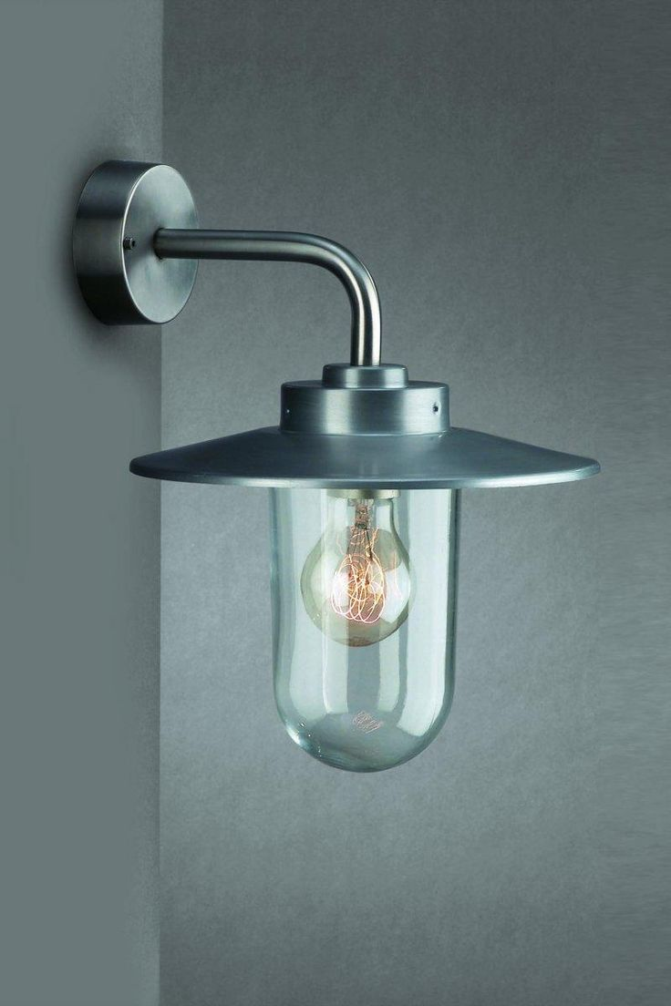 Edelstahl Außenleuchte Außenlampe Wandleuchte Wandlampe VM - licht-idee.de
