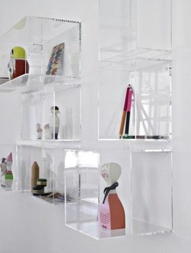 Display Me Box, High Square modern wall shelves