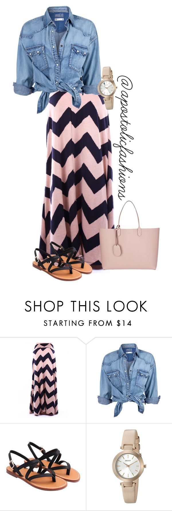 """Apostolic Fashions #1290"" by apostolicfashions on Polyvore featuring Soul Cal, DKNY and Gucci"