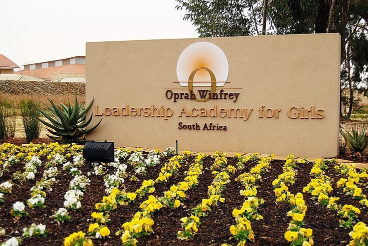 The Oprah Winfrey Leadership Academy for Girls - South Africa is a female boarding school founded in January 2007 and located in Henley on Klip near Meyerton, south of Johannesburg, South Africa. The academy was founded by Oprah Winfrey with the goal of providing educational and leadership opportunities for academically gifted girls from impoverished backgrounds.