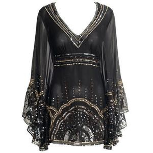 I found 'Monsoon Accessorize - Allure Sequin Tunic' on Wish, check it out!