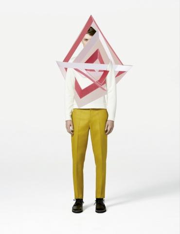 Ernesto Artillo Fashion Collages | purple woods