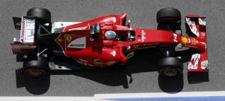 Fernando Alonso en Montmeló.