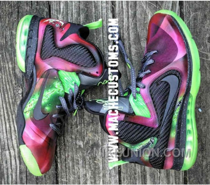 New Style Nike Lebron 9 King James Earl Jones Custom