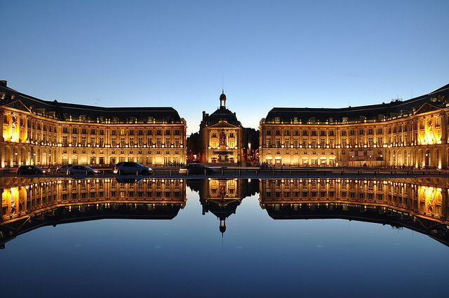 Beautiful Bordeaux... only 1 1/2 hr drive from our vacation homes, and an international airport