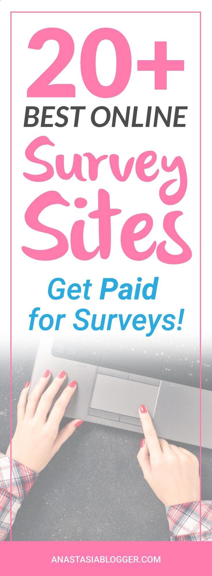 20  Best Paid Surveys Sites – Get Paid to Take Surveys !