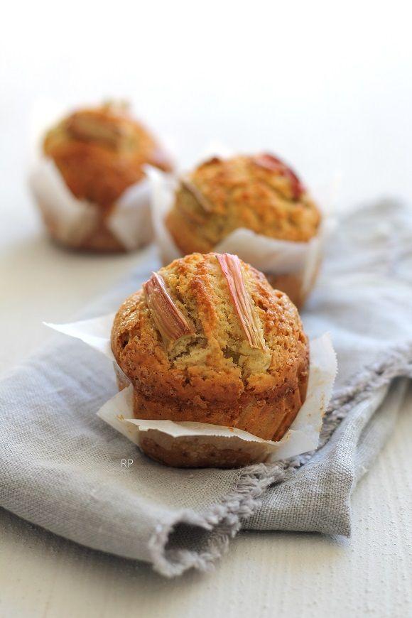 Muffins integrali al rabarbaro