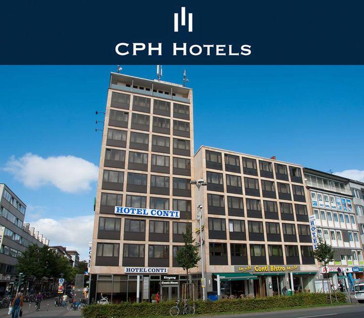 Hotels Münster Zentrum - City Partner Hotel Conti #Münster http://muenster-conti.cph-hotels.com