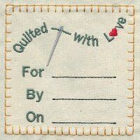 embroidery labels free | Designs in Stitches - Labels