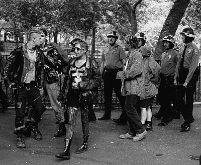Punks and Cops in TSP, 1994