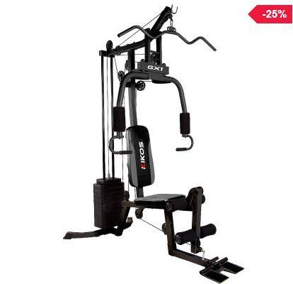 Comprar Estação de Musculação Kikos GX1 Compra na promoção a Estação de Musculação Kikos GX1 – A Estação de Musculação Kikos GX1 conta com mais de 25 opções de exercícios como: Supino, Peck D…