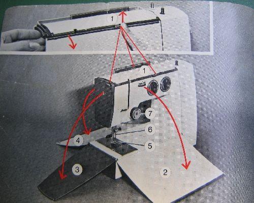 elna sewing machine instructions