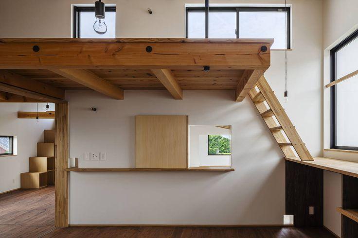 FUMIHITO OHASHI ARCHITECTURE STUDIO の モダンな 家 HouseYM