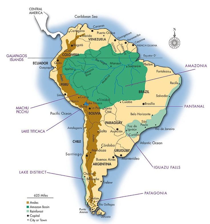 amazon rainforest map - Google Search | South America ...