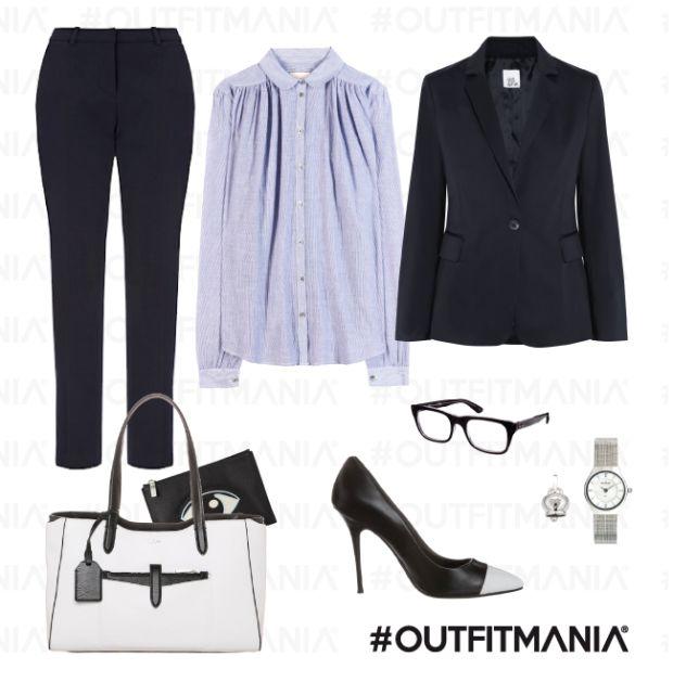 Job outfit: colloquio di lavoro  | balzer Azrouel, borsa ralph lauren e scarpe dune... | #outfitmania #outfit #style #fashion #dresscode #amazing #shirt #elegant #chic #kenzo #job #suit #tailleur #jacket #shoes #lewis #wear #blazer | CLICCA SULLA FOTO PER SCOPRIRE L'OUTFIT E COME ACQUISTARLO