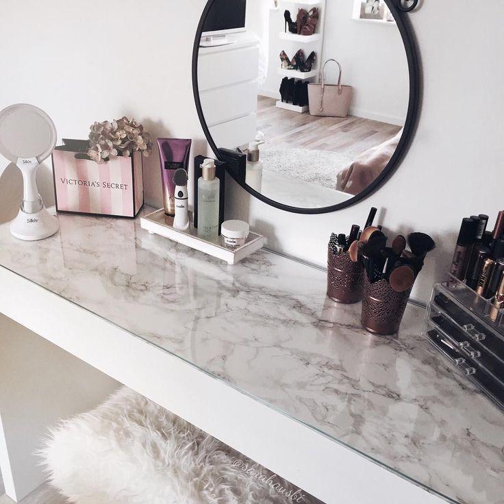 Makeup Vanity Ideas Pinterest