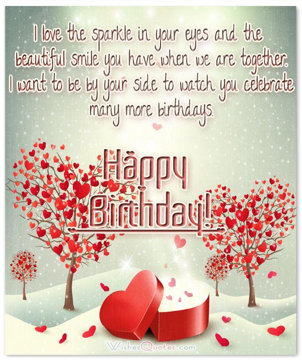 Best 25 Romantic birthday wishes ideas – Birthday Greetings Love