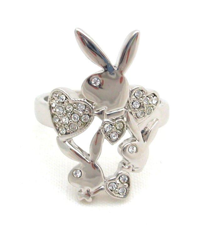 Prsteň Playboy Silver