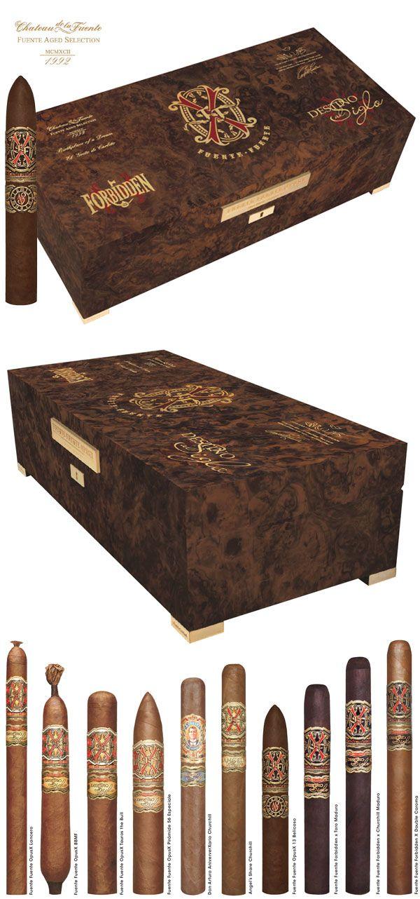 2014 Ltd Ed. Fuente Fuente Forbidden X Humidor - Walnut | Pre-Orders Only $3900