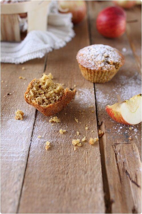 Muffins aux flocons d'avoine et pommes