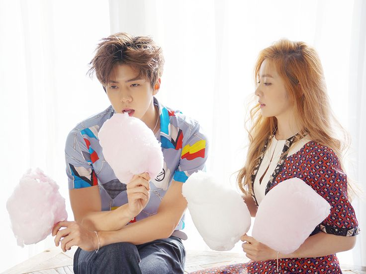 SMTOWN NOW Vyrl Update : CéCi Magazine, February 2016 Issue - Sehun with Irene of Red Velvet (3/3)